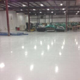 Warehouse Epoxy Floor