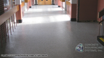 Epoxy Flooring Color Flakes