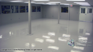 Electro Static Dissipative Floors