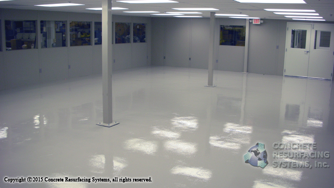 Electro Static Dissipative Floors