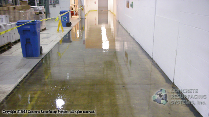 Sealed Concrete Floors - Concrete Resurfacing Systems