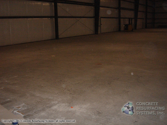 Floor Free Of Concrete Dust Concrete Resurfacing Systems
