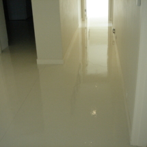 residential epoxy flooring Eastham, MA. after picture