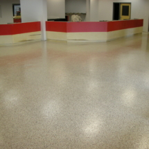 Auto parts store epoxy floor Brocton,MA.