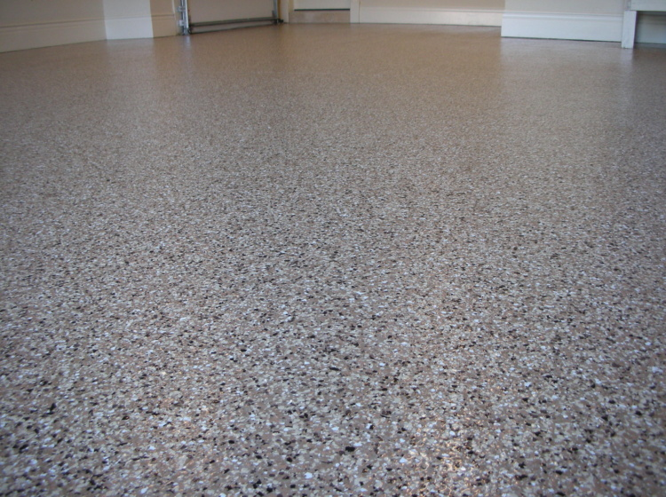 Garage Floor Epoxy Flake Coating