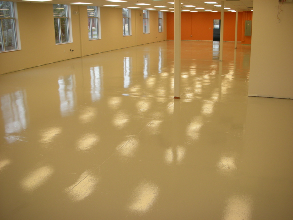 Industrial Floor Epoxy Concrete Resurfacing Systems