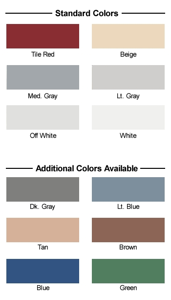 Color Charts Concrete Resurfacing Systems